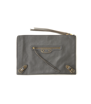 Metallic Edge Clutch