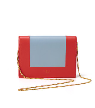 Frame Clutch Shoulder Bag